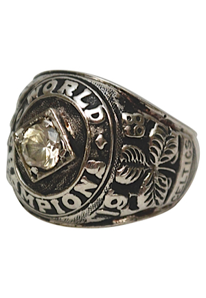 1969 Boston Celtics NBA Championship Ring (Salesman Sample)