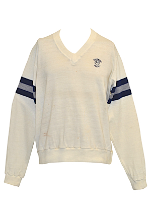 Early 1980s Baltimore Colts Coaches-Worn Sideline Sweater