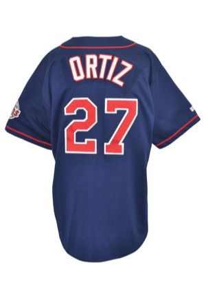1999 David Ortiz Minnesota Twins Game-Used Alternate Jersey (Twins LOA • Rare Early Example)