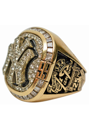 1999 New York Yankees World Series Championship Ring Presented To First Base Coach José Cardenal (MINT)