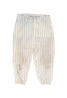 1964 Frank Crosetti New York Yankees Coaches-Worn Pinstripe Home Pinstripe Flannel Pants