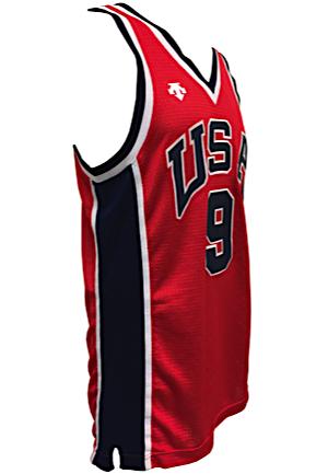 Lot Detail - 1984 Michael Jordan USA Olympic Men\'s Basketball Game