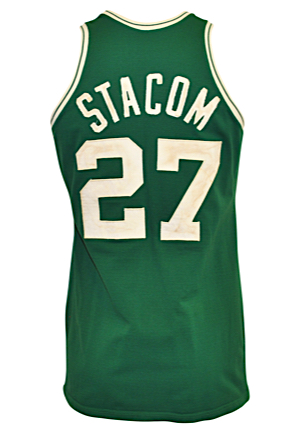 Mid-To-Late 1970s Kevin Stacom Boston Celtics Game-Used Road Jersey