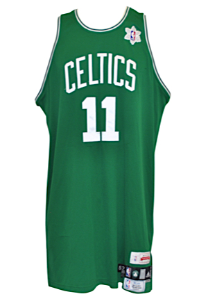 12/25/2008 Glen Davis Boston Celtics Christmas Day Game-Used Road Jersey (NBA LOA)