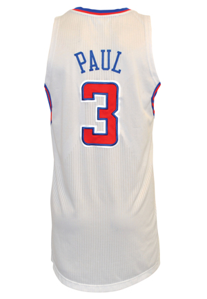 2011 Chris Paul Los Angeles Clippers Game-Used Home Jersey