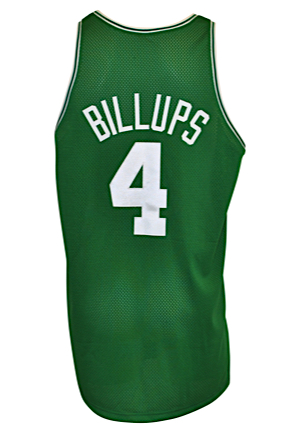 1997-98 Chauncey Billups Rookie Boston Celtics Game-Used & Autographed Road Jersey (JSA)
