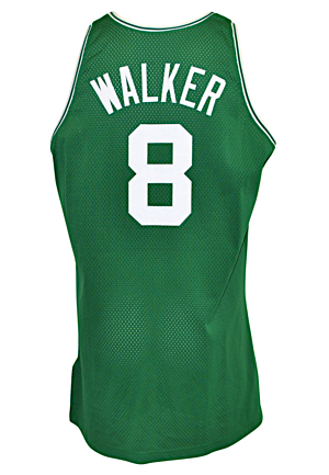 1996-97 Antoine Walker Boston Celtics Rookie Game-Used Road Jersey