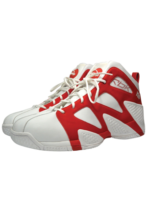 Yao Ming Houston Rockets Game-Used Sneakers