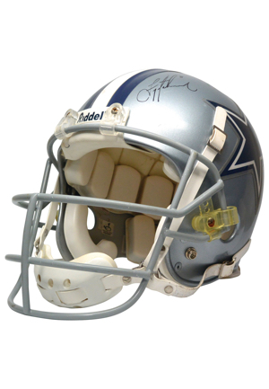 Mid 1990s Troy Aikman Dallas Cowboys Game-Used & Autographed Helmet (Full JSA LOA • Originally Sourced From Aikman)