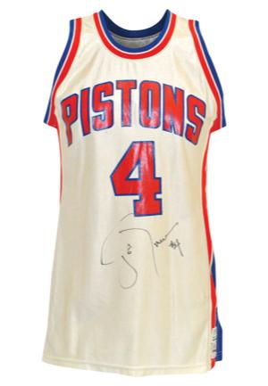 Lot Detail 1985 86 Joe Dumars Rookie Detroit Pistons