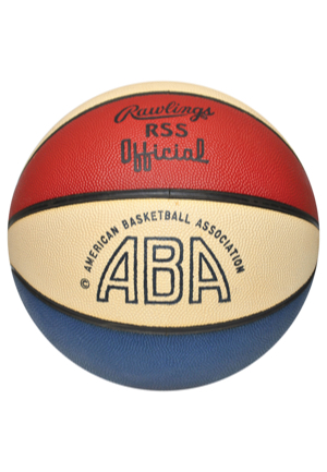 Official Utah Stars ABA Basketball (NRMNT-MINT Condition)