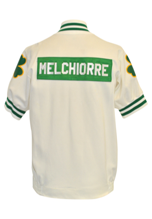 Mid 1980s Ray Melchiorre Boston Celtics Trainers Warm-Up Jacket