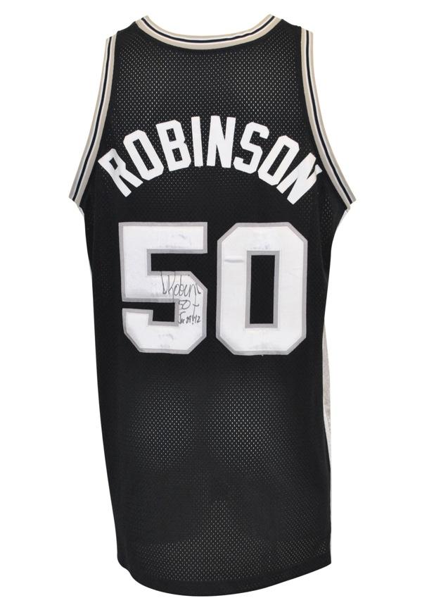 Lot Detail - 1999-2000 David Robinson San Antonio Spurs Game-Used ... c3c59d77b