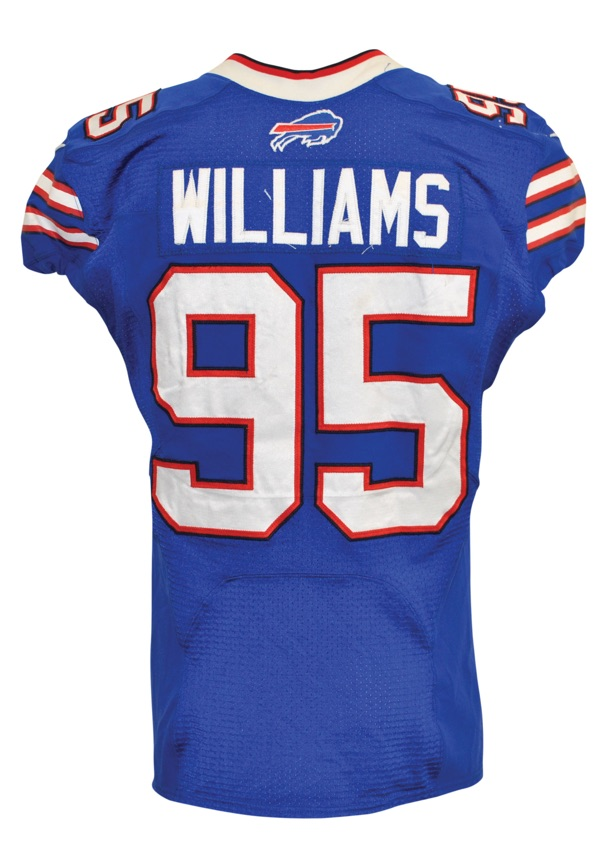 Lot Detail - 2013 Buffalo Bills Game-Used Home Jerseys — October ...