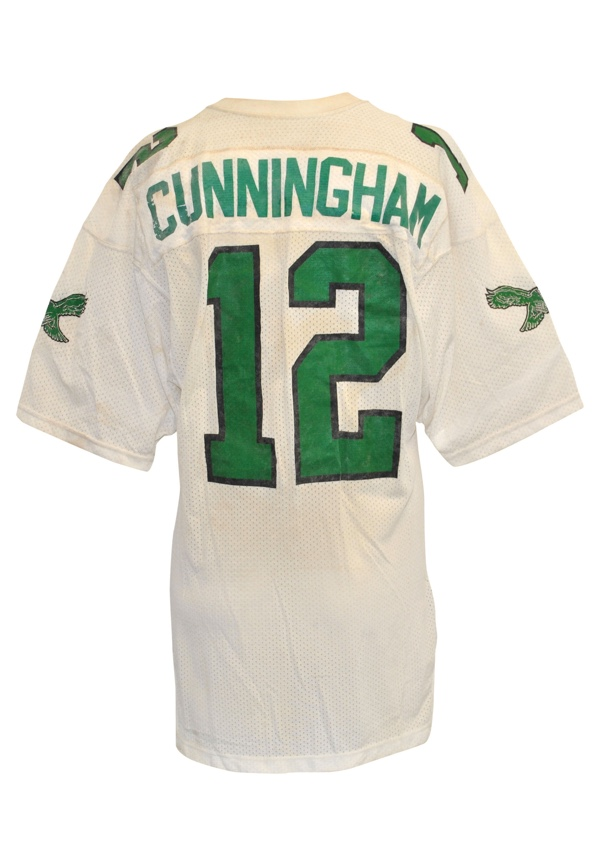 online store bfbc9 50a92 Lot Detail - Late 1980s Randall Cunningham Philadelphia ...