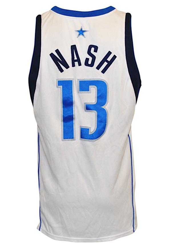 2f7ec76e414 Lot Detail - 2002-03 Steve Nash Dallas Mavericks NBA Playoffs Game ...