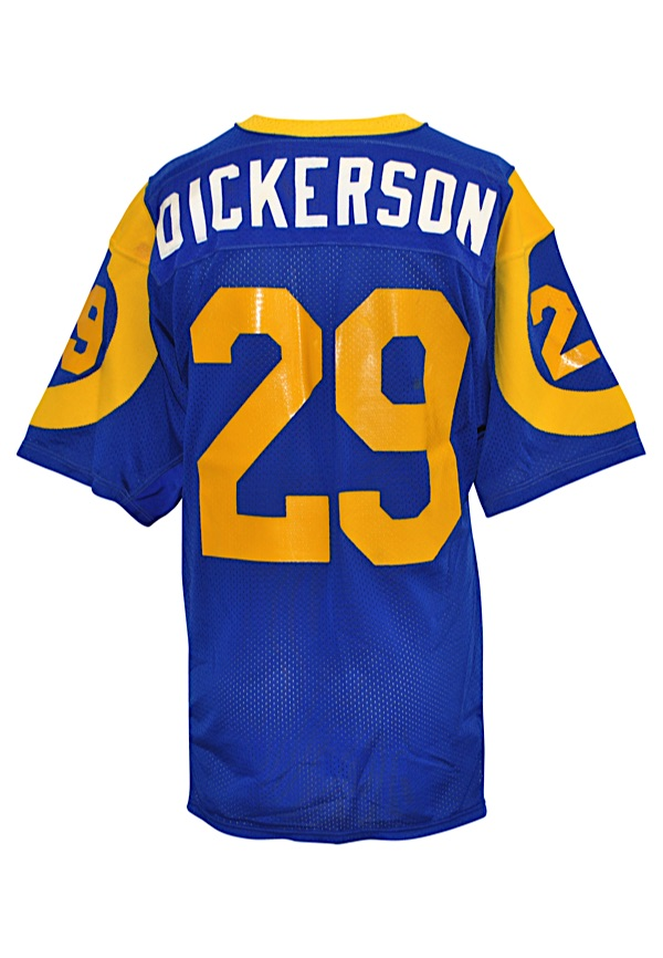 Lot Detail - Mid 1980s Eric Dickerson Los Angeles Rams Game-Used ... 44b91a3e6