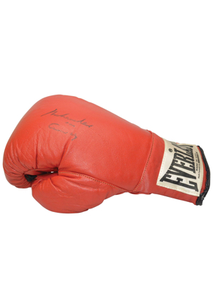 "Vintage Muhammad Ali Training & Sparring Autographed Boxing Glove (JSA • ""Made Expressly For"" Tagging)"