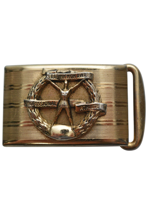1960s Hickok Award Gold Belt Buckle