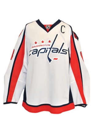 3/22/2014 Alex Ovechkin Washington Capitals Game-Used Road Jersey (Photo-Matched • Washington Capitals LOA • NHL Top Goal Scorer)