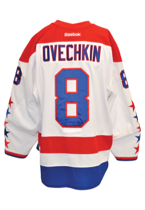 3/24/2013 Alex Ovechkin Washington Capitals Game-Used Road Jersey (Photo-Matched • Washington Capitals LOA • Hart Trophy Season • NHL Top Goal Scorer)