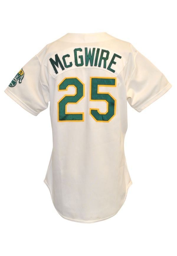 save off 6680e b2d01 Lot Detail - 1990 Mark McGwire Oakland Athletics Game-Used ...