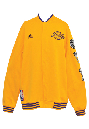 2015-16 Los Angeles Lakers Player-Worn Warm-Up Suit Attributed To Kobe Bryant (2)