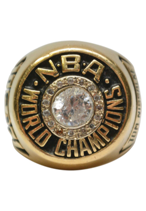 1971 Tom Nissalke Milwaukee Bucks World Championship Ring (Sourced From Nissalke)