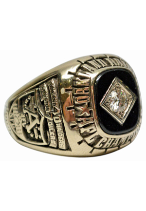 1967 Oakland Raiders AFL Championship Players Ring Presented to Wayne Hawkins (Franchises First Title)