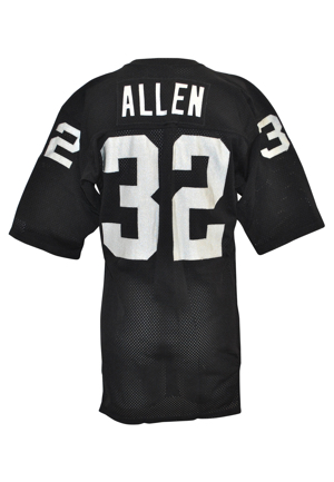 1982-84 Marcus Allen Rookie Era Los Angeles Raiders Game-Used Home Jersey (Rare)