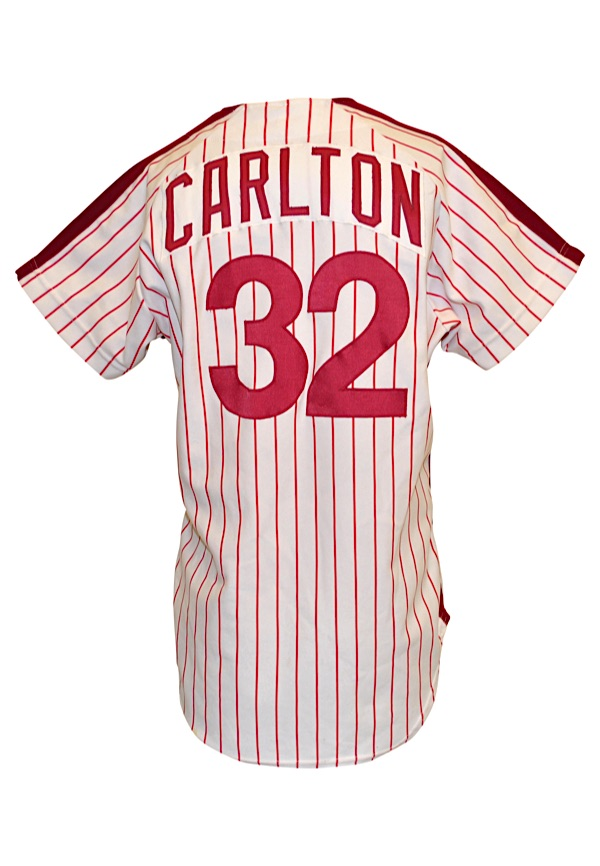 Lot Detail - 1981 Steve Carlton Philadelphia Phillies Game-Used ... 1c997fc408e