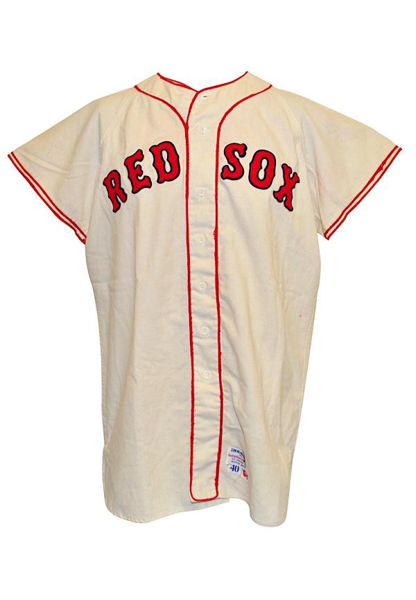 the latest 7b6b4 cc36f Lot Detail - 1964 Carl Yastrzemski Boston Red Sox Game-Used ...