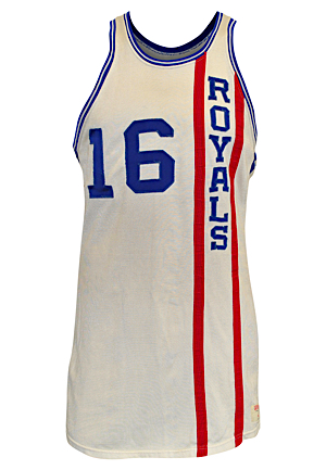 Late 1960s Jerry Lucas Cincinnati Royals Game-Used Home Uniform (2)(Hobby Fresh • All-Original Fantastic Condition Graded 10)