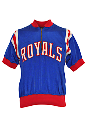 "Late 1960s Adrian ""Odie"" Smith Cincinnati Royals Player-Worn Shooting Shirt (Rare)"