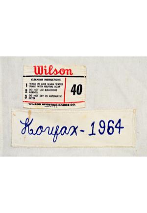 1d8fca7dea2 Lot Detail - 1964 Sandy Koufax Los Angeles Dodgers Game-Used ...