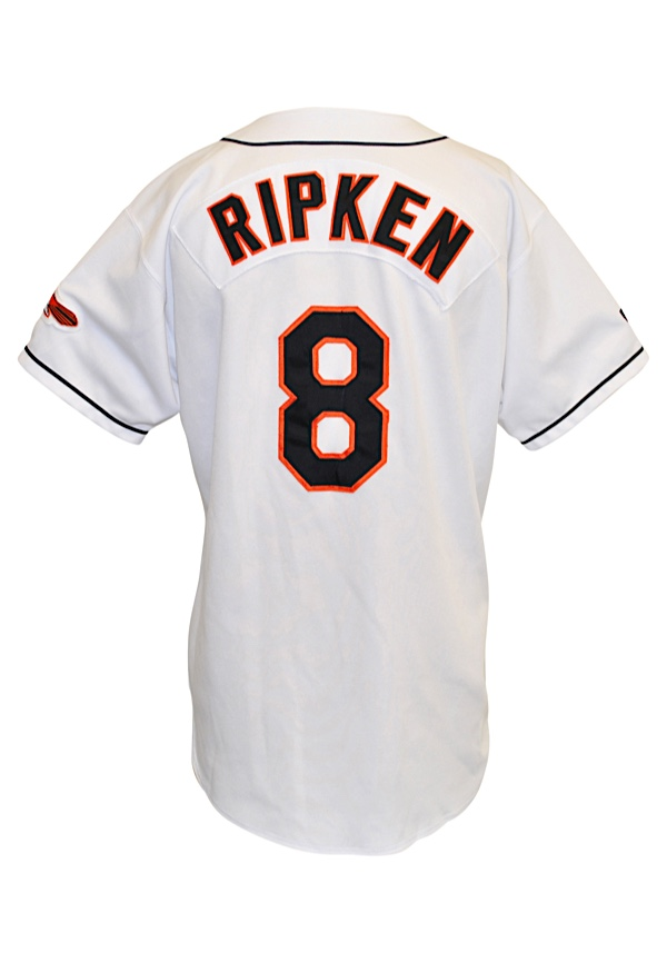 779d48c6d Lot Detail - 1998 Cal Ripken Jr. Baltimore Orioles Game-Used Home Jersey
