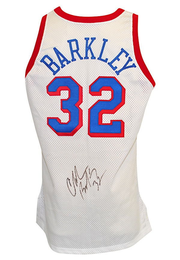 best sneakers faf18 f3f85 Lot Detail - 1991-92 Charles Barkley Philadelphia 76ers Game ...