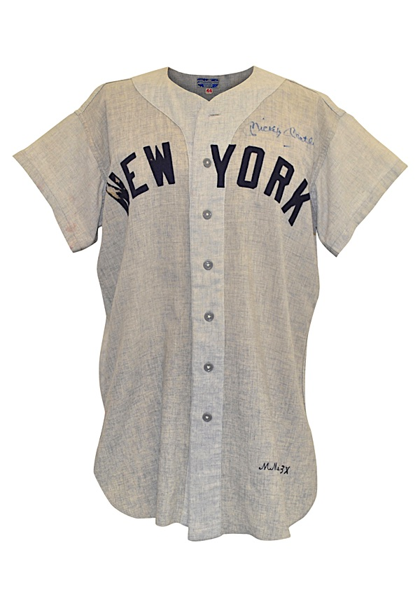 new style 9ca8a 94add Lot Detail - 1953 Mickey Mantle New York Yankees Game-Used ...