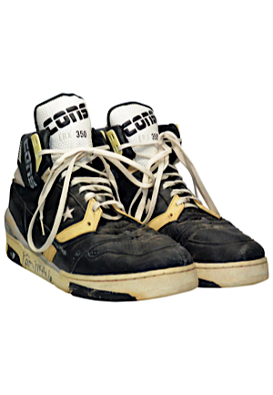 Kevin McHale Boston Celtics Game-Used & Dual Autographed Sneakers (JSA • Sourced From Former NBA Ball Boy)