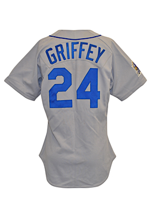 7/10/1990 Ken Griffey Jr. Seattle Mariners MLB All-Star Game-Used Road Jersey (Photo-Matched • Sourced From the Attic of His Childhood Home)