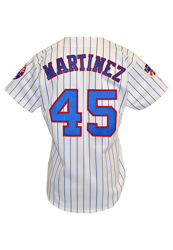 hot sale online 4bc01 34b76 Lot Detail - 1997 Pedro Martinez Montreal Expos Game-Used ...