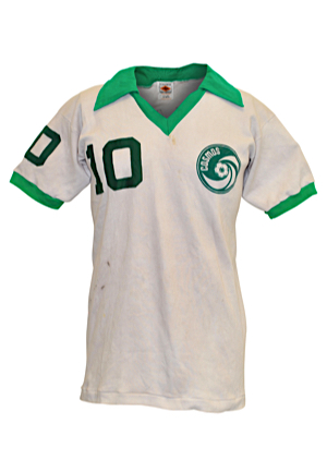 2f9d6488f Lot Detail - 1977 Pelé New York Cosmos Match-Worn Jersey (Gifted To ...