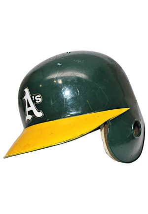 1994 Mark McGwire Oakland As Game-Used Batting Helmet