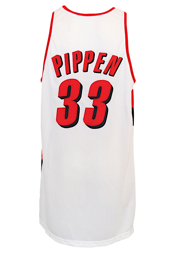 size 40 3c57c 624a3 Lot Detail - 2000-01 Scottie Pippen Portland Trail Blazers ...