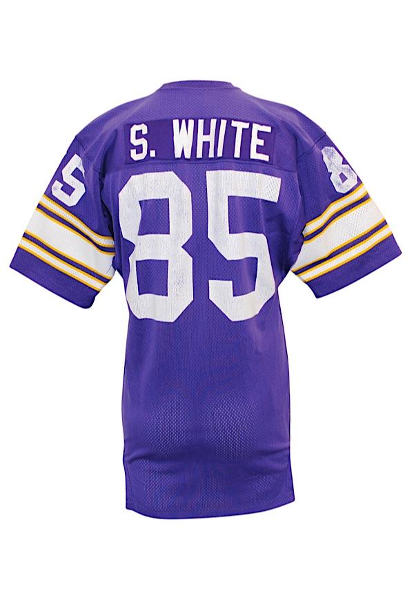 sports shoes 79e50 92230 Lot Detail - Late 1970s Sammy White Minnesota Vikings Game ...