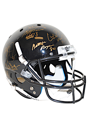 College Football Stars & Heisman Trophy Winners Multi-Signed Replica Helmet Including Bo Jackson, Billy Sims, Paul Hornung & Many More (JSA • Steiner)