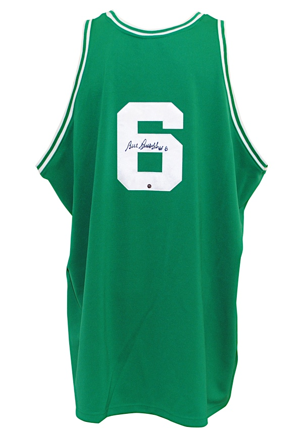 ef190d7df15 Lot Detail - Bill Russell Boston Celtics Autographed Road Mitchell ...