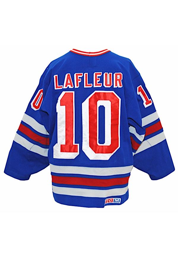 the best attitude cc3bc acabc Lot Detail - 1988-89 Guy Lafleur New York Rangers Game-Used ...