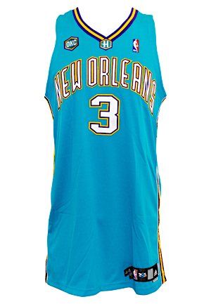 4dbc4276077d Lot Detail - 2006-07 Chris Paul New Orleans OKC Hornets Game-Used ...