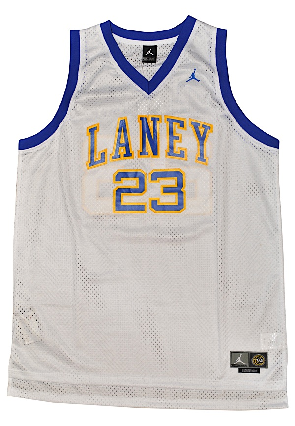 sale retailer ff398 7c32a Lot Detail - Michael Jordan Emsley A. Laney Buccaneers High ...